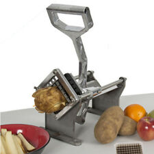 Potato French Fry Fruit Vegetable Cutter Slicer Commercial Quality W/ 3 Blades