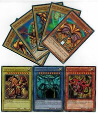All Ultra 8-CARD SET YGLD  EXODIA + EGYPTIAN GOD OBELISK * SLIFER RA YUGIOH