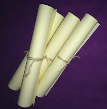Lotx 4 PERGAMINO A4 RITUAL MAXIMA CALIDAD!Parchment Paper for Spells Top quality