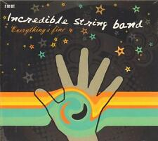 Incredible String Band(2CD Album)Everything's Fine-CRIDE 74-New