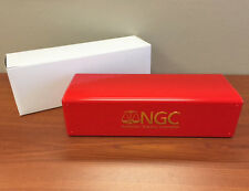 RED & GOLD Brand New NGC Storage Plastic Box ~ Each Box Holds 20 NGC Slab Coins