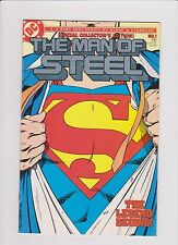 DC Comics! The Man of Steel! Complete Set! Issues 1-6!
