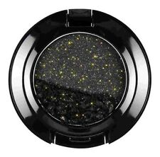 NYX Cosmetics Glam Eye Shadow, Midnight Express (Black With Gold Glitter)