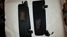 BMW 123D SERIES M SPORT 09+ BOTH SIDE O/S-N/S SUN VISORS-BLACK 101-6232300