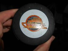 Rare Vintage 1980s Vancouver Canucks Viceroy – InGlasCo Game Puck w NHL Logo