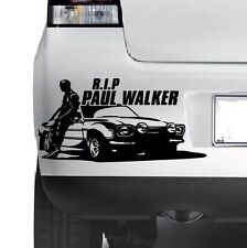 Paul Walker R.I.P Finestra Muro Paraurti Auto Laptop Adesivo Decalcomania In Vinile JDM XBOX ps4