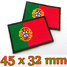 1 x Portugal Portuguese Flag Embroidered Patch Iron On National Lisbon UEFA Euro