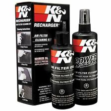 K&N Recharger Air Intake Filter Cleaning Kit Cleaner & Squeeze Oil 99-5050 NEW