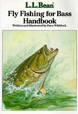 L. L. Bean Fly Fishing for Bass Handbook by Dave Whitlock (1988, Paperback)