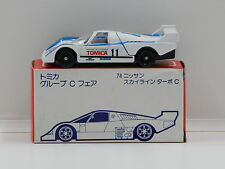 1:64 Nissan Skyline Group C #11 with Decal Sheet - Made in Japan Tomica 74