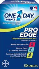 One A Day Mens Pro Edge Complete Multivitamin 50 Tablets