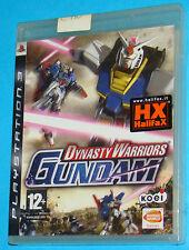 Dynasty Warriors Gundam - Sony Playstation 3 PS3 - PAL New Nuovo Sealed