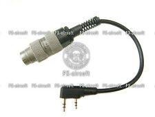 PRC U-229 to Kenwood Baofeng Radio Adapter (mbitr PRC-148 PRC-152)