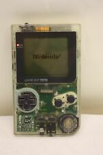 Console NINTENDO GAME BOY transparent POCKET MGB-001 & game SUPER 64 en 1 (M511)