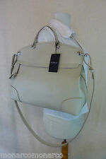 NWT FURLA Marble/Soft Beige Piper Saffiano Leather Tote/Crossbody Bag $448