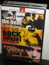 The Beat / Rock the Paint / Junior's Groove (DVD) Lynn Whitfield, BRAND NEW!