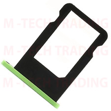!NEW REPLACEMENT IPHONE 5C GREEN SIMTRAY SIMCARD HOLDER TRAY SLOT PART