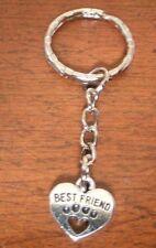 """porte clés coeur """"best friend"""""""