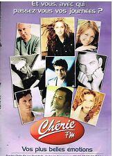 Publicité Advertising 2004 Radio Chérie FM