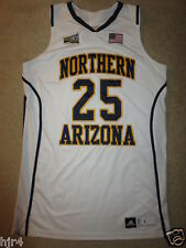 Northern Arizona University Lumberjacks NAU adidas Game Worn Basketball Jersey