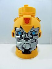 Transformers Bumblebee Water Container Bottle With Straw Universal Studios Large