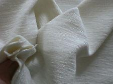 Möbelstoff Polsterstoff CHENILLE WEISS Stoff STOFFE