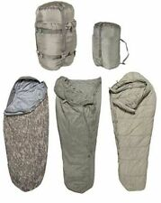 USGI 4 Piece Modular Sleep System ACU Digital Camo Sleeping Bag US Military GD