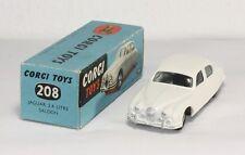 Corgi Toys 208, Jaguar 2.4 litre Saloon, Mint in Box              #ab1201