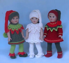 Crochet Santa's Lil' Elves doll pattern by Annie Potter Presents