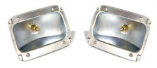 NEW! 1965-1966 Ford Mustang Tail Light Body, Housings, Pair Left and Right