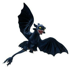 How to Train Your Dragon Deluxe Night Fury Toothless Poseable Plush