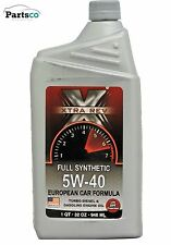 Full Synthetic 5W40 European Car Formula Motor Oil 12 Quarts In Case XTRA REV