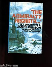 Admiralty Regrets'. The Story of HM  Submarine Thetis &Thunderbolt, Warren HBdj