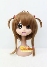 CardCaptor​ Sakura Kinomoto Sakura Cosplay wig Brown with headband CS