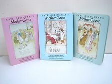 Mother Goose Boxed Set of 3 Illustrated by Kate Greenaway