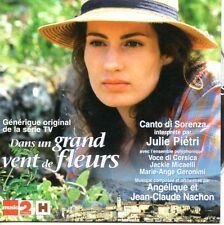 ★☆★ CD SINGLE Julie PIETRI -  Dans un grand vent de fleurs - Canto di Sorenza G