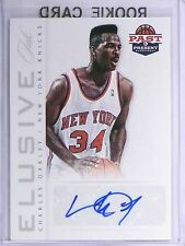 2013 Past and Present Basketball Charles Oakley Elusive Ink Autograph #32  *5705