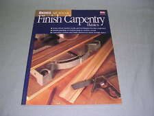 Ortho's All about Finish Carpentry Basics - Great Book For Beginners!