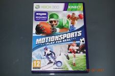 Motionsports Xbox 360 Kinect Juego para Real RU PAL ** GRATIS UK FRANQUEO **
