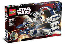 Lego Star Wars 7661 Jedi Starfighter With Hyperdrive Booster Anillo Nueva
