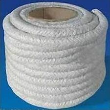 6mm Top Quality Glass Fibre Stove Rope Sealing Woodburning Door Sealer Lagging