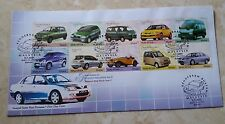 Malaysia 2001 Malaysian Made Vehicles Series II ~ S-FDC