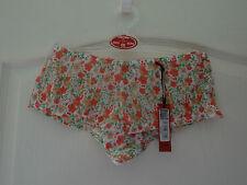 Floral Print Shorts/Pants    Peach/Green size 10/12
