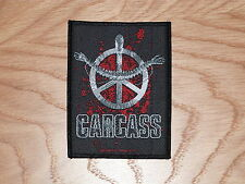 CARCASS - HEARTWORK (NEW) SEW ON W-PATCH OFFICIAL BAND MERCHANDISE