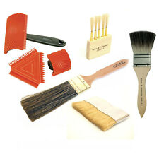 7-Piece Wood Graining Tool Set - With Flogger, Badger Softener, Mottler, Comb