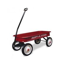 Radio Flyer Wagon Red Classic Outdoor Metal Best Kids Pull Child Riding Play Toy