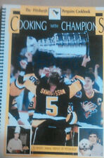 Pgh Penguins, Cooking with Champions Cookbook, 1992, First Printing, Stanley Cup