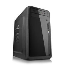 Dynamode gc783 lockstock Micro ATX PC CUSTODIA NERA CON usb3.0 - No PSU