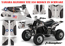 AMR RACING DEKOR GRAPHIC KIT ATV YAMAHA BANSHEE YFZ 350 T-BOMBER B