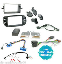 CTKFT02 Car Stereo Double Din Radio Replacement Fitting Kit For FIAT 500 2007